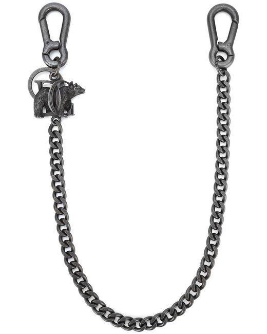 DSquared² | Gray Bear Pendant Clip Chain | Lyst