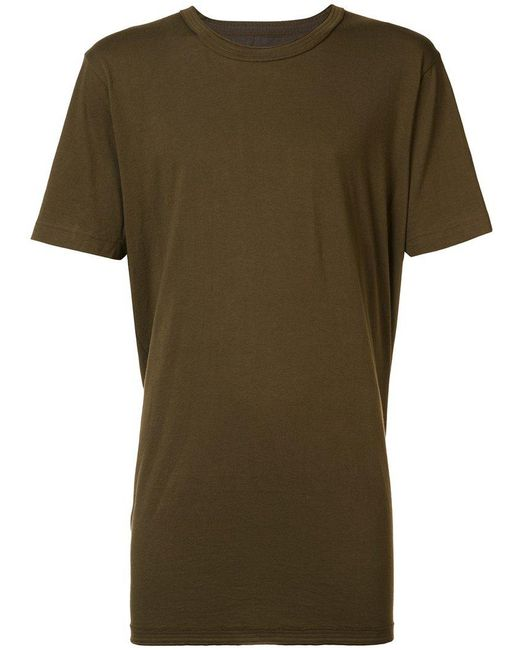 Ziggy Chen - Green Rear Panel T-shirt for Men - Lyst
