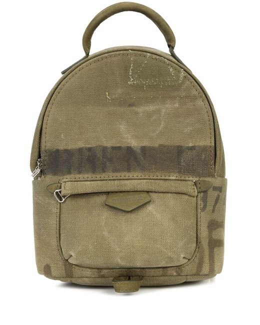 READYMADE Army Style Mini Backpack in het Green