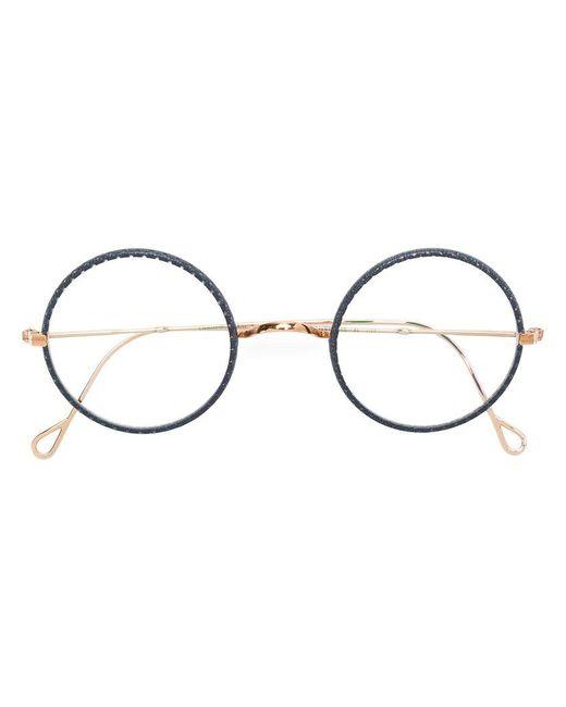 Gouverneur Audigier - Metallic Round-frame Glasses - Lyst