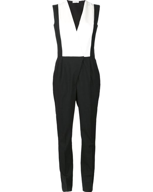 Vionnet - Black Overall Style Jumpsuit - Lyst
