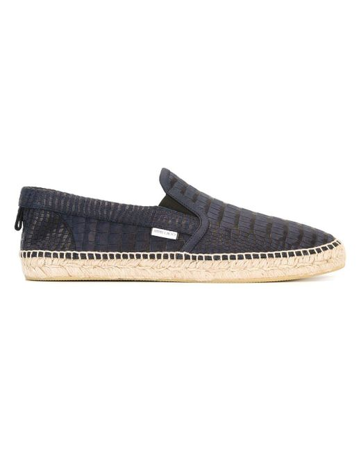 Jimmy Choo Blue 'vlad' Espadrilles for men