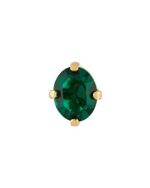 Wouters & Hendrix - Green A Wild Original! Emerald Crystal Stud Earring - Lyst