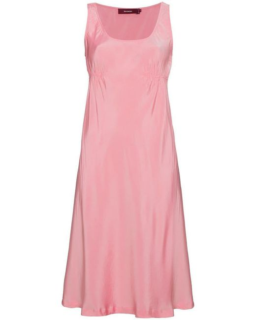 Sies Marjan - Pink Sylvie Sleeveless Slip Dress - Lyst