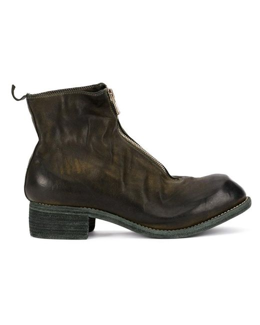 Guidi zip-up distressed boots outlet factory outlet free shipping get to buy big discount for sale sale amazing price kzvQMQbQOQ