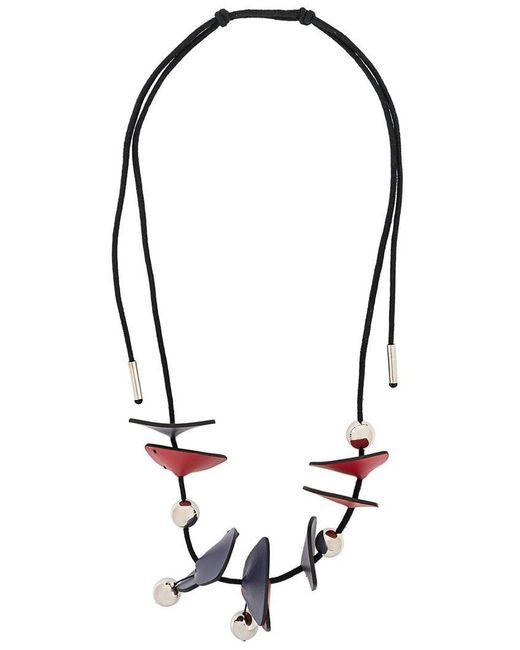 Marni - Multicolor Panel Bead Necklace - Lyst