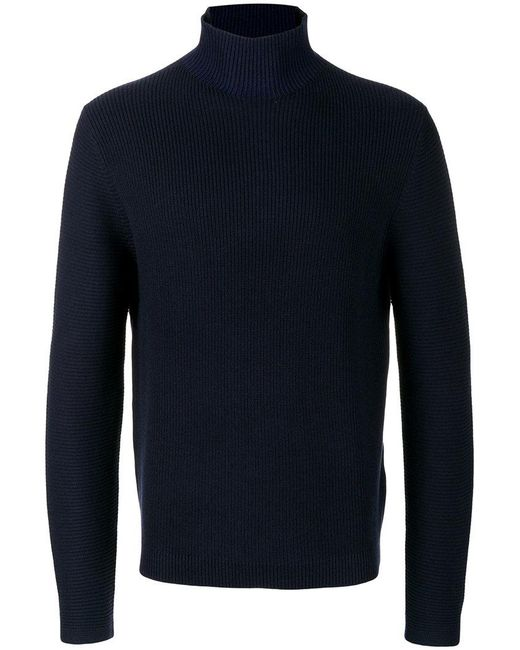 PS by Paul Smith | Blue High-neck Sweater for Men | Lyst