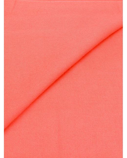 Pashmina Shawl scarf - Pink & Purple N.Peal OFMDhz