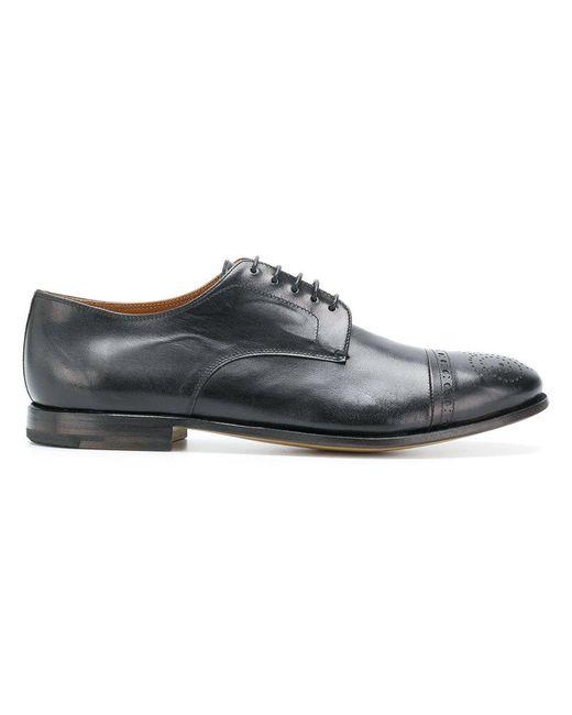 textured Derby shoes - Black Premiata JQ7nB