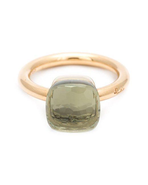 Pomellato - Gray Gold Prasiolite Ring - Lyst
