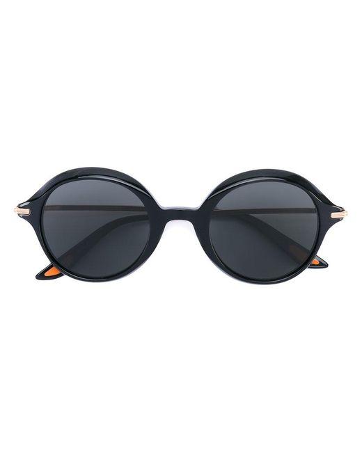 Christian Roth Eyewear | Black Retro Round Sunglasses | Lyst