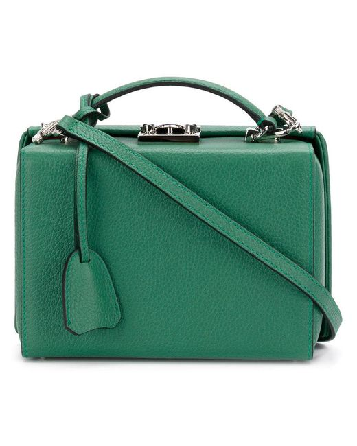 Mark Cross | Green Mini Briefcase Bag | Lyst