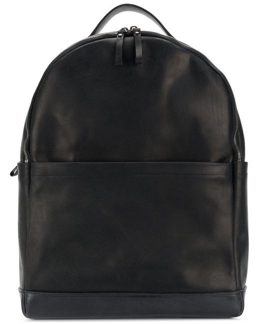 Marsèll - Black Large Double Compartment Backpack - Lyst