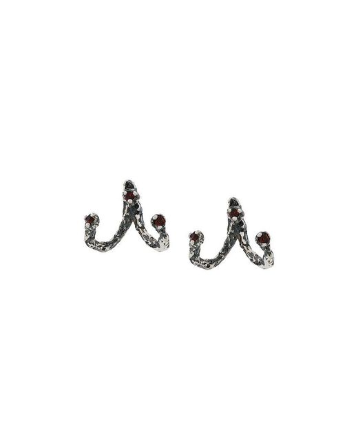 Niza Huang - Gray Moments Jacket Earrings - Lyst