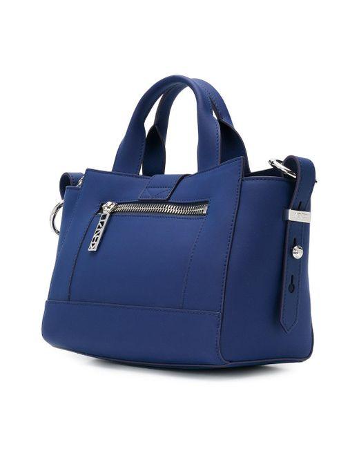 19a71849 ... KENZO - Blue Small Kalifornia Shoulder Bag - Lyst ...
