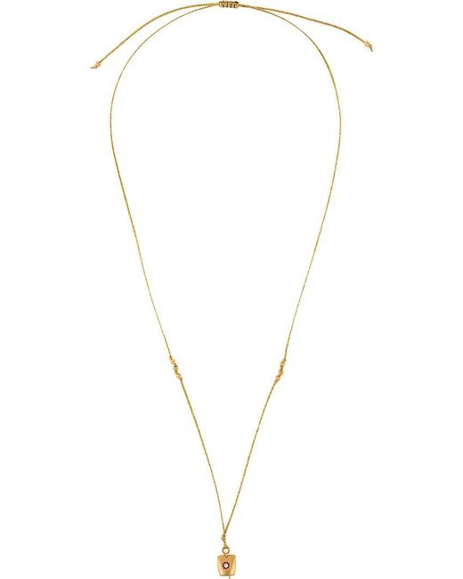 Ileana Makri - Metallic Medium Belle Cord Necklace - Lyst