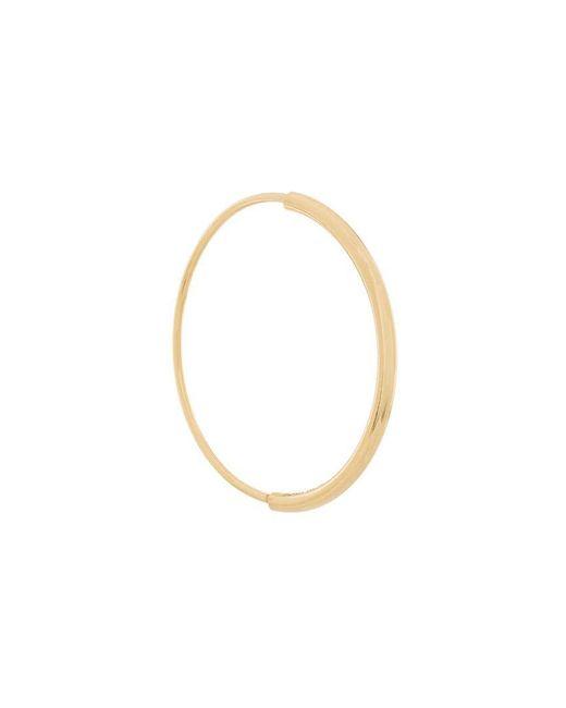 Maria Black - Metallic Delicate Hoop 26 Earring - Lyst