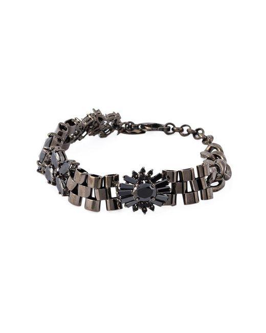 Iosselliani - 'black On Black Memento' Bracelet - Lyst