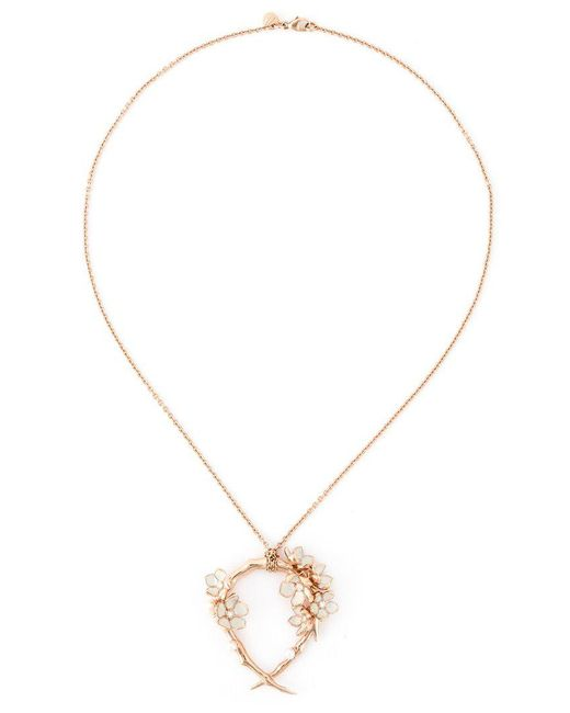 Shaun Leane | Pink 'cherry Blossom' Diamond Necklace | Lyst