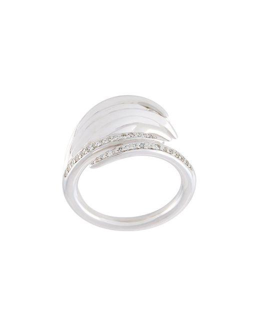 Shaun Leane | Metallic 'white Feather' Diamond Ring | Lyst