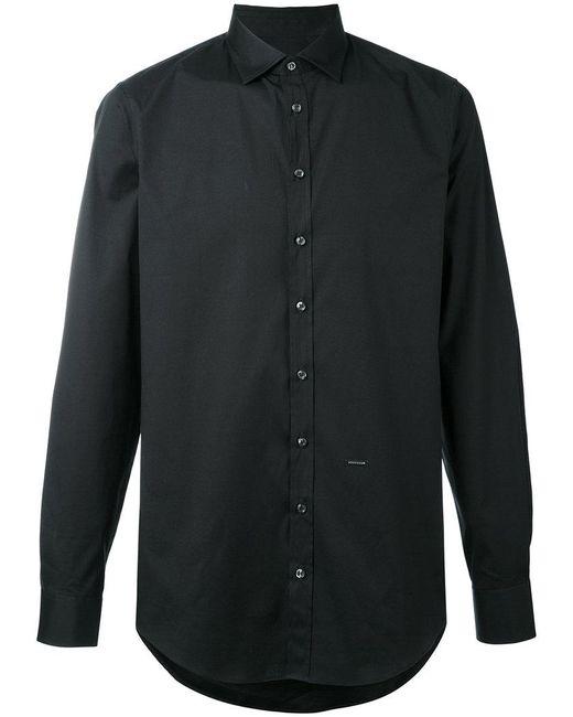 DSquared² | Black Buttoned Shirt for Men | Lyst