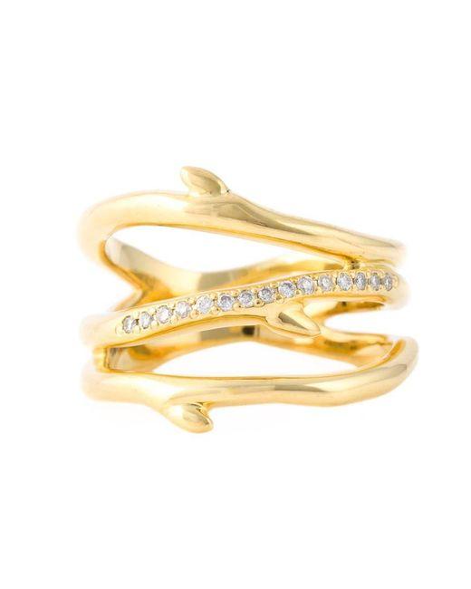 Shaun Leane - Metallic 'cherry Branch' Diamond Ring - Lyst