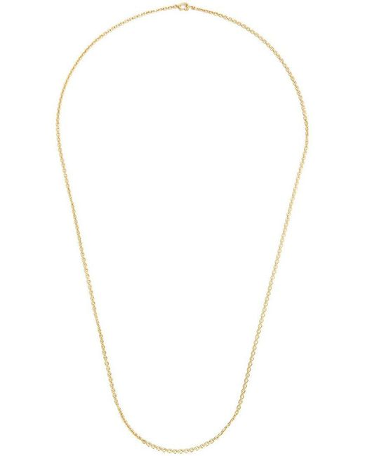Irene Neuwirth - Metallic 18kt Gold Oval Link Chain Necklace - Lyst