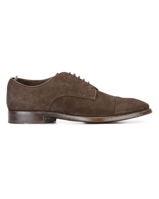 Officine Creative - Brown Princeton Oxfords for Men - Lyst