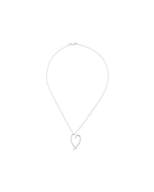 Shaun Leane - Metallic Signature Tusk Heart Necklace - Lyst
