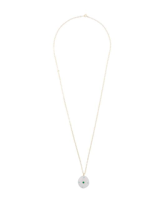 Cvc Stones - Metallic Buenaventura Emerald Pebble Necklace - Lyst
