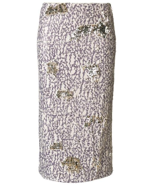 Dorothee Schumacher   Multicolor Multi-coloured Sequinned Skirt   Lyst