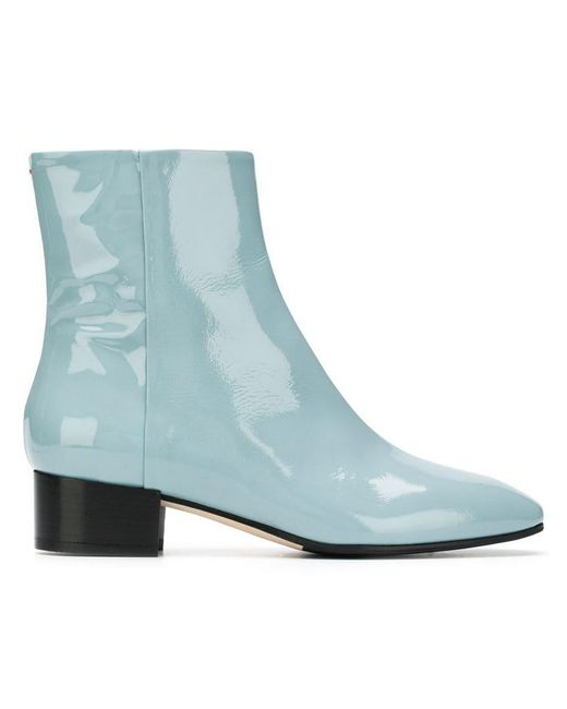 Aeyde - Blue Naomi Ankle Boots - Lyst