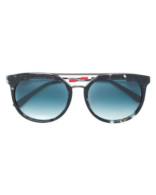 f50f036c3e0 Orlebar Brown - Black X Linda Farrow Round-frame Sunglasses for Men - Lyst  ...