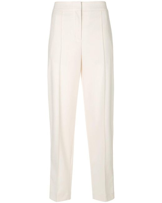 Proenza Schouler - White High-waist Tailored Trousers - Lyst