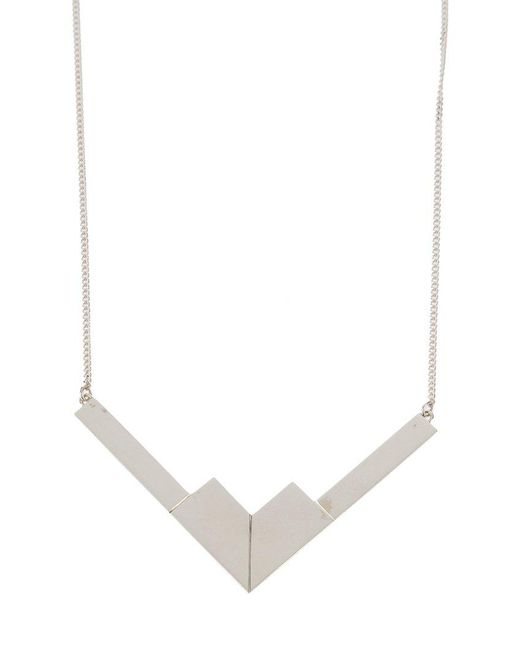 The Medley Institute | Metallic 'v11-05' Necklace | Lyst