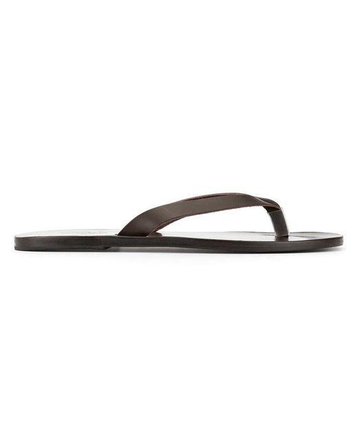 5c7d0e755e8fee Ancient Greek Sandals - Brown Hero Sandals for Men - Lyst ...