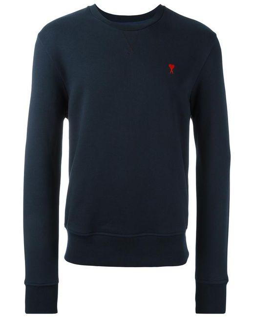 AMI   Blue Ami De Coeur Sweatshirt for Men   Lyst