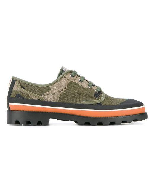 Valentino | Green Garavani Camouflage Sneakers for Men | Lyst