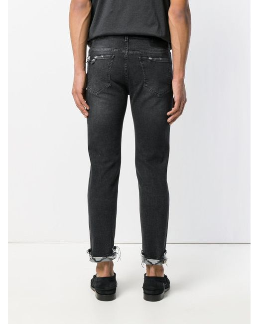 Jeans Jambe Droite - Noir Pence OixICZ3K
