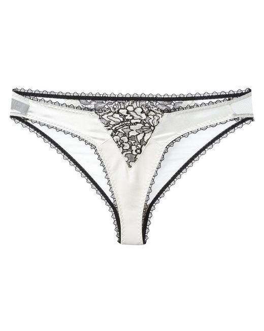 Loveday London | White Lace Briefs | Lyst