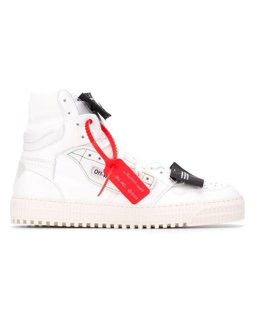 62d4d759c73147 Off-White c/o Virgil Abloh White Low 3.0 Off-court High-top Sneakers ...