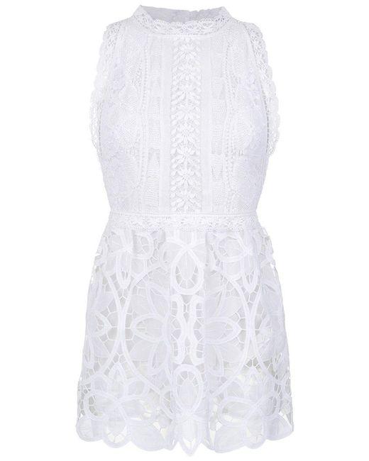 Martha Medeiros - White Lace Dress - Lyst