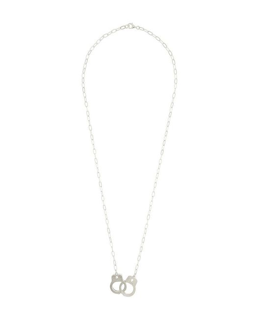 Hysteric Glamour - Metallic Hand-cuff Pendant Necklace for Men - Lyst