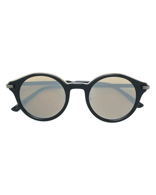 Jimmy Choo - Black Nick 50 Round Frame Sunglasses for Men - Lyst