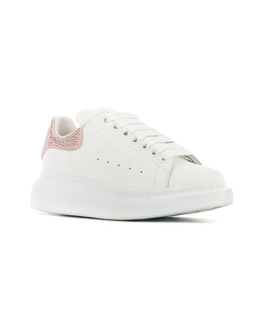 ea55f85dadbc ... Alexander McQueen - White Chunky Sneakers - Lyst ...