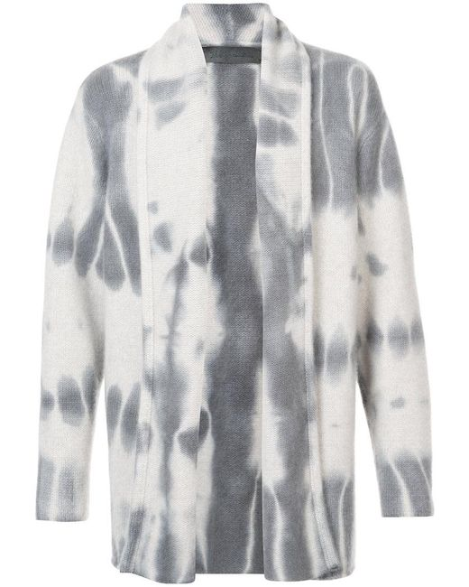 The Elder Statesman - Blue Tie Dye Print Cardigan for Men - Lyst