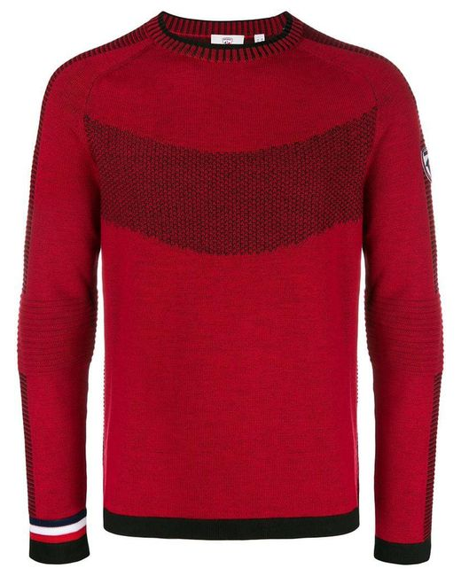 Rossignol - Red Crew Neck Sweater for Men - Lyst ... 31dfbcd8c