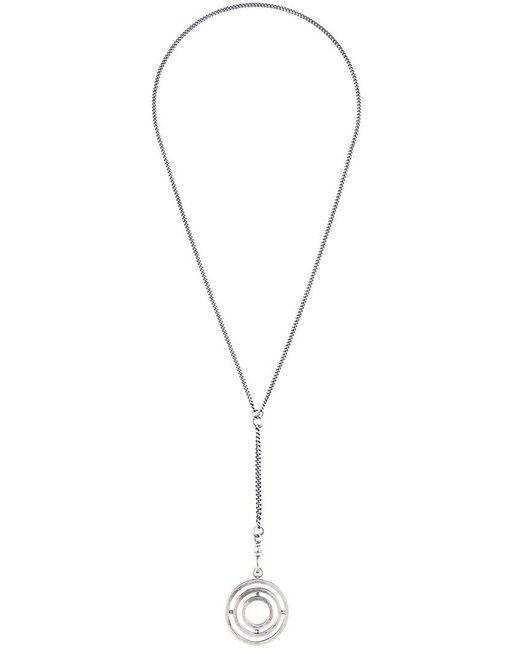 Ann Demeulemeester - Metallic 'bracciale 3d Medal' Necklace - Lyst