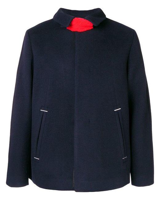 OAMC - Blue Neck Strap Coat for Men - Lyst