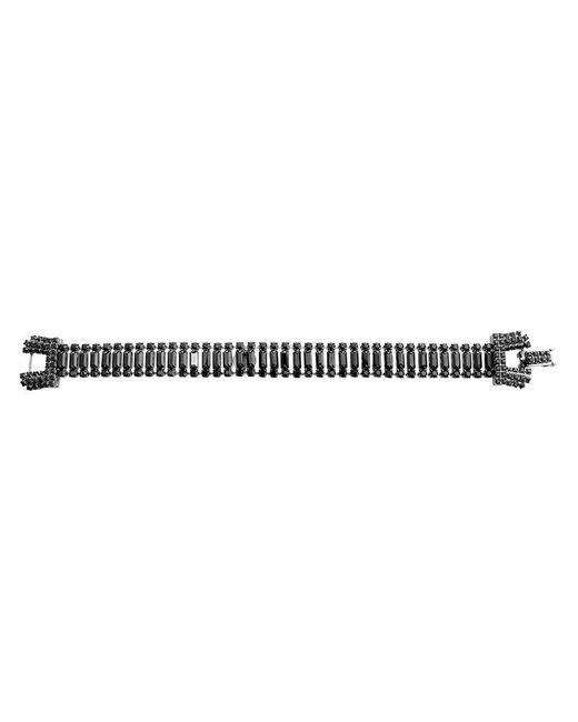 Tom Binns | Black 'skyline Baguette' Crystal Bracelet | Lyst